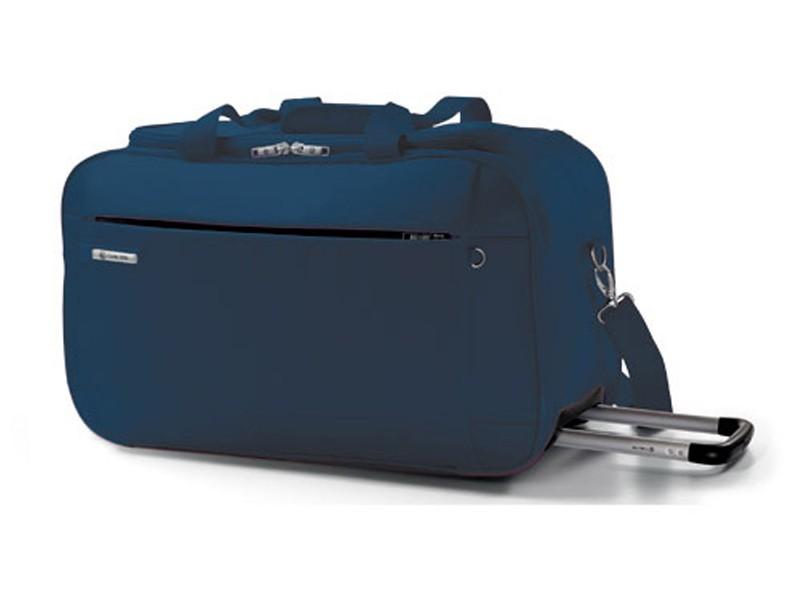 Carlton Titanium Holdall with Trolley 68cm in Navy Blue
