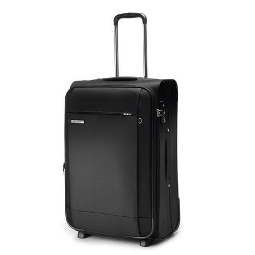 Carlton Titanium Expandable Trolley Case 65cm in Black