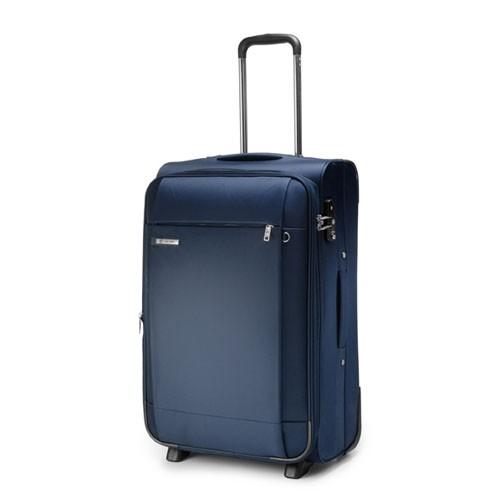 Carlton Titanium Expandable Trolley Case 80cm in Navy Blue