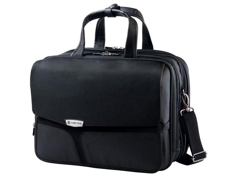 Carlton Cell Laptop Folio Case with Expander