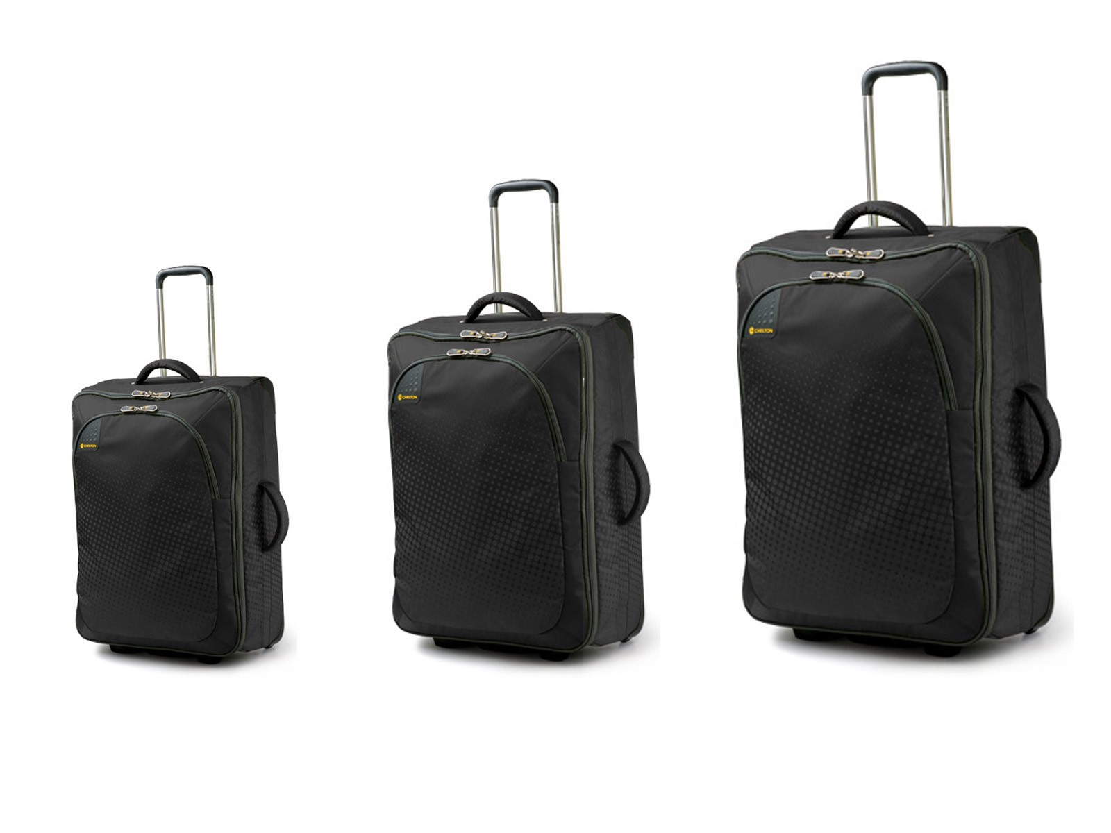 Carlton Tribe Trolley Set 72/65/50cm in Graphite