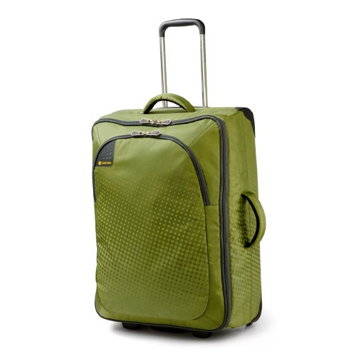 Carlton Tribe Trolley Case 50cm Cabin Size in Apple Green