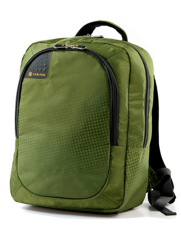 Carlton Tribe Laptop Backpack in Apple Green