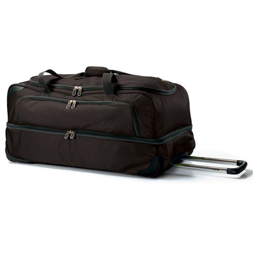 Carlton Tribe Double Decker 2 Wheel Holdall 80cm in Graphite