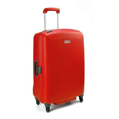 Carlton Glider II Spinner 4 Wheel Trolley Case 75cm in Red
