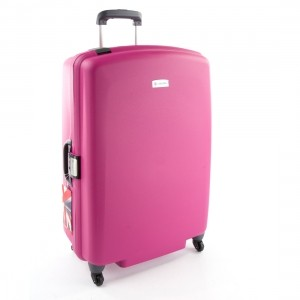 Carlton Glider 3 Luggage Plum 82cm