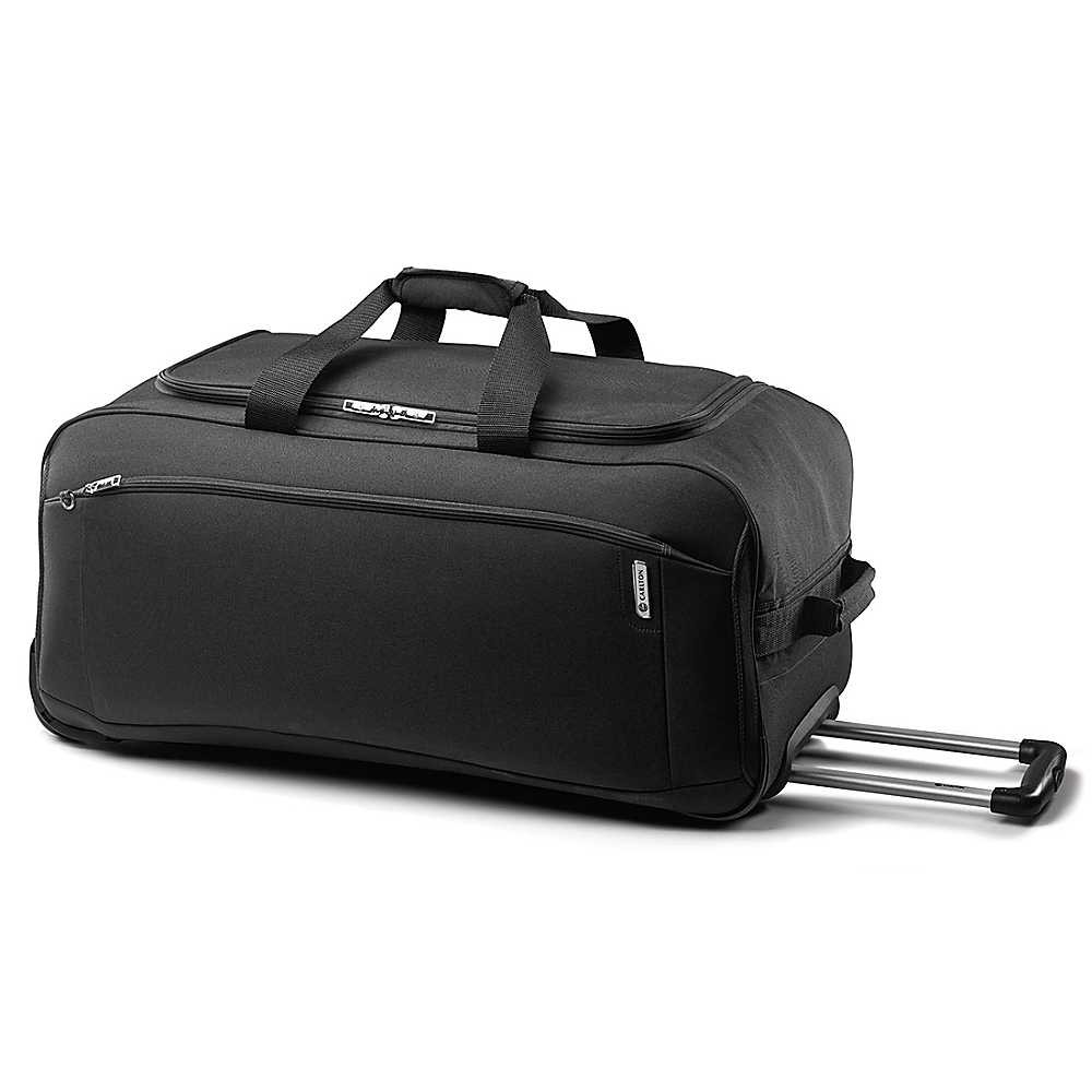 Carlton Oasis Holdall with Trolley System 75cm in Black