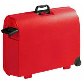 Carlton Airtec 2 Wheel Suitcase 78cm in Red