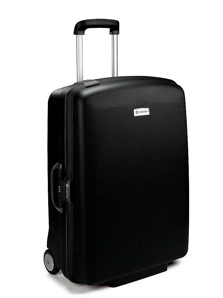 Carlton Glider II 2 Wheel Trolley Case 77cm in Black