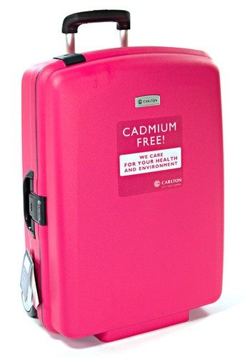 Carlton Glider II 2 Wheel Trolley Case 70cm in Fuschia
