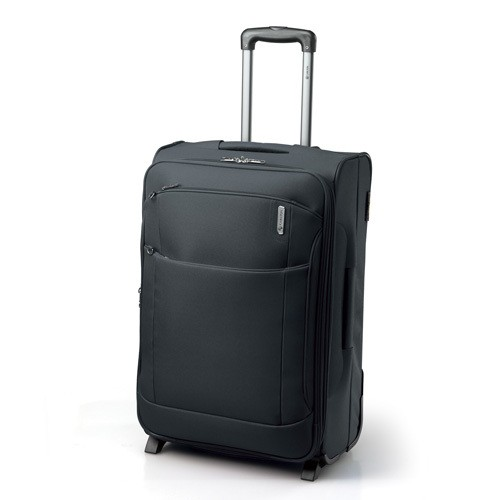 Carlton Oasis Expandable Trolley Case 65cm in Black