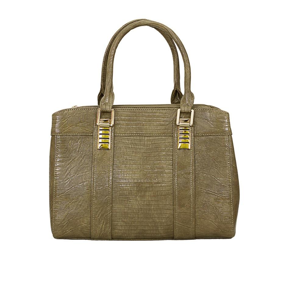 Charley Clark Womens Fashion Handbag in Beige