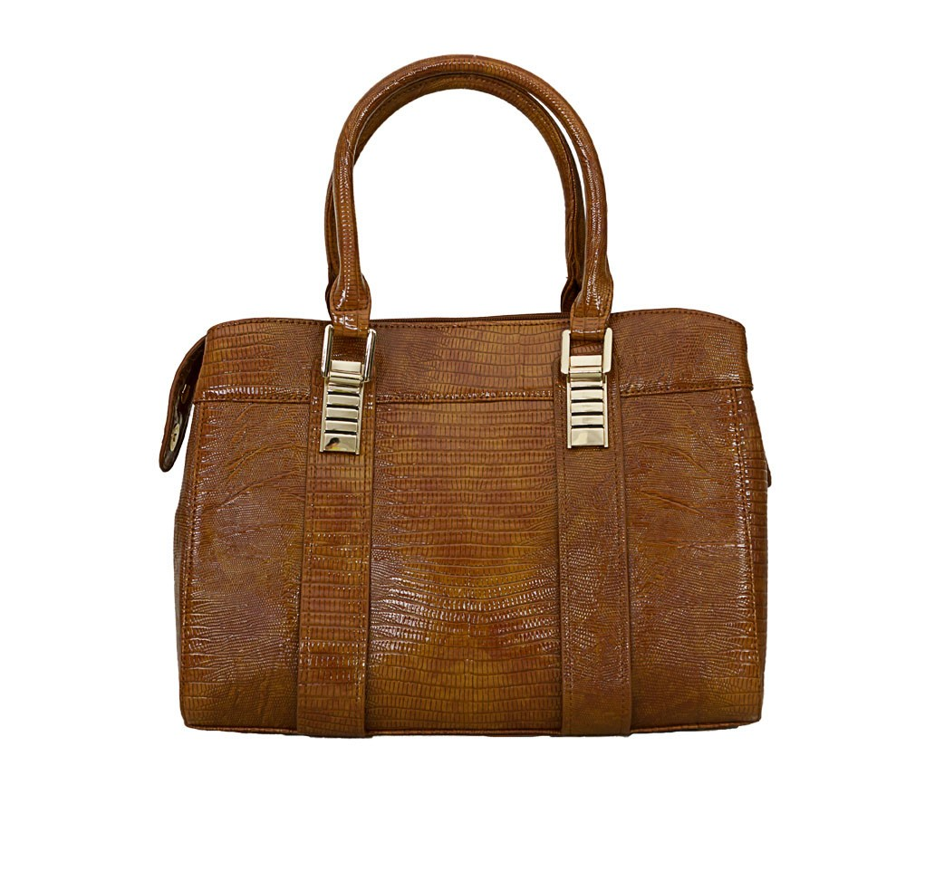 Charley Clark Womens Fashion Handbag in Tan