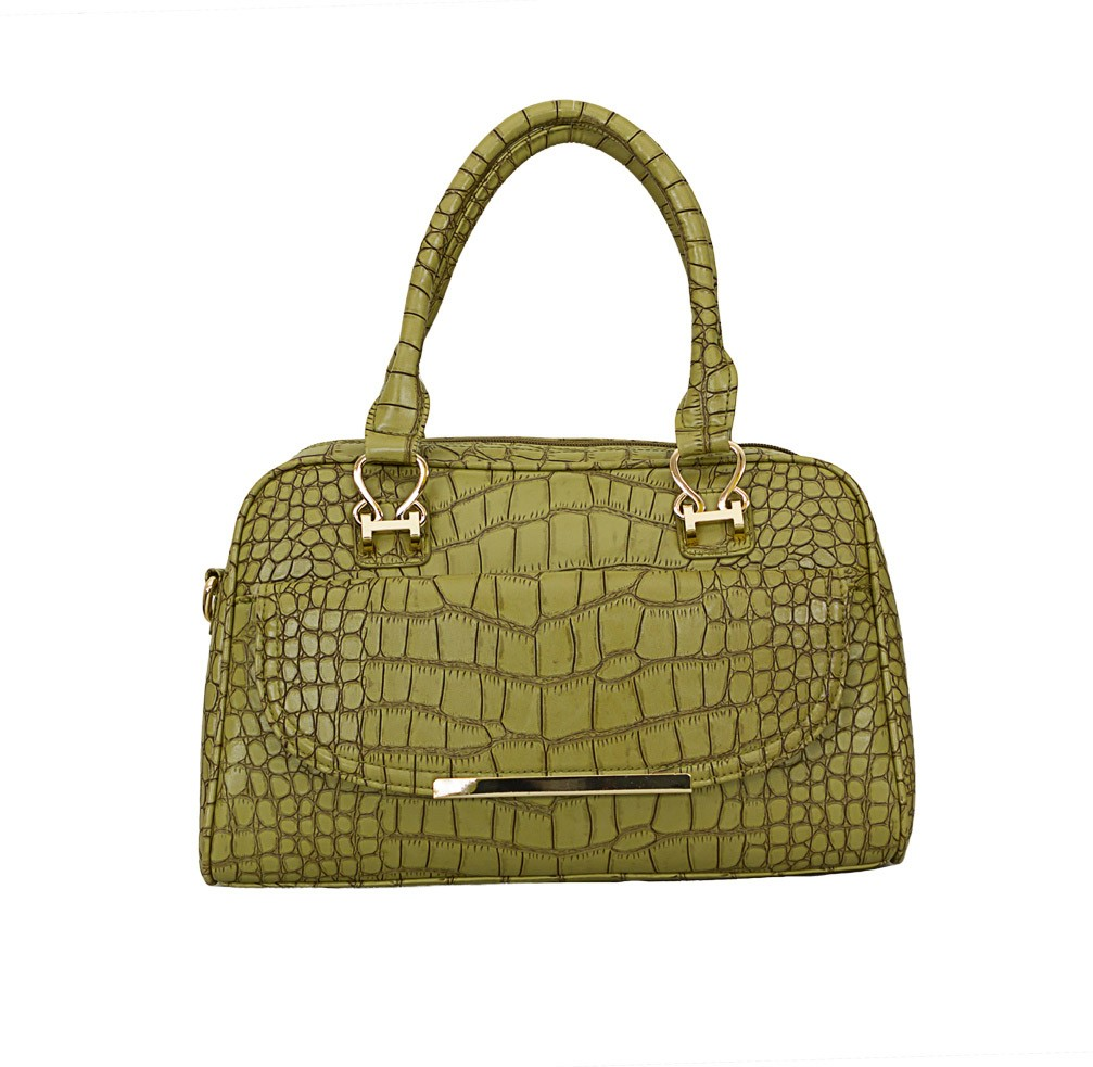 Charley Clark Designer Fashion Handbag in Green