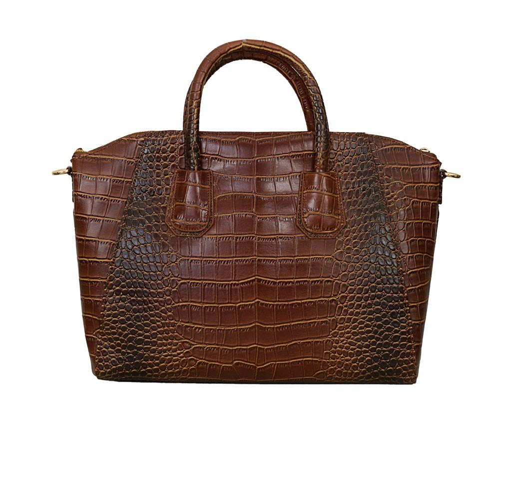 Charley Clark Designer Handbag in Tan