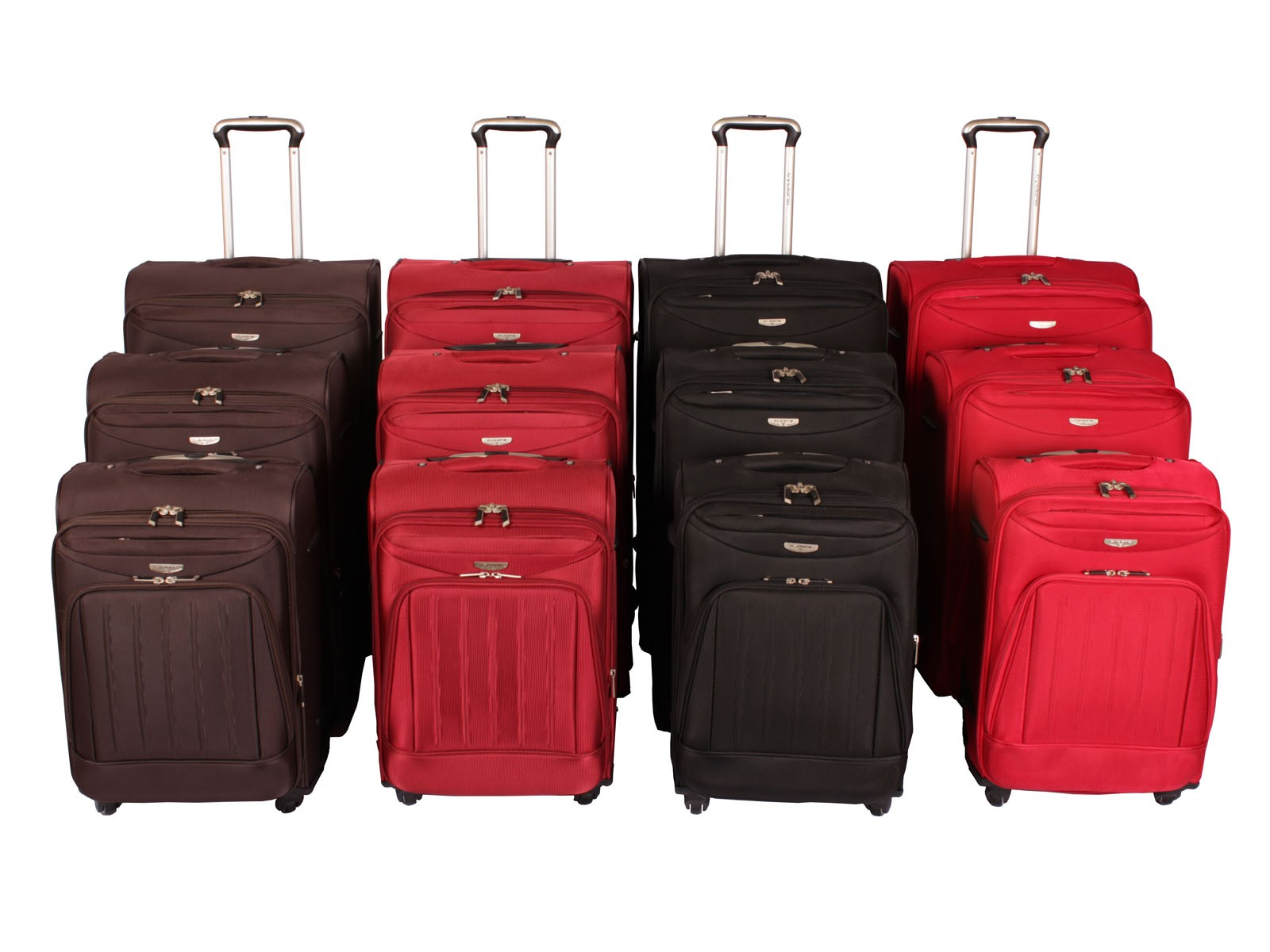 "Cyclone Flo 4 Wheel Luggage Set of 3 ( 20"" / 24"" / 28"" )"