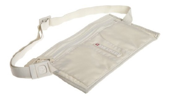 Wenger Double Pocket Money Belt