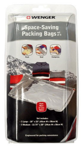 Wenger Space Saving Packing Bags Set of 4