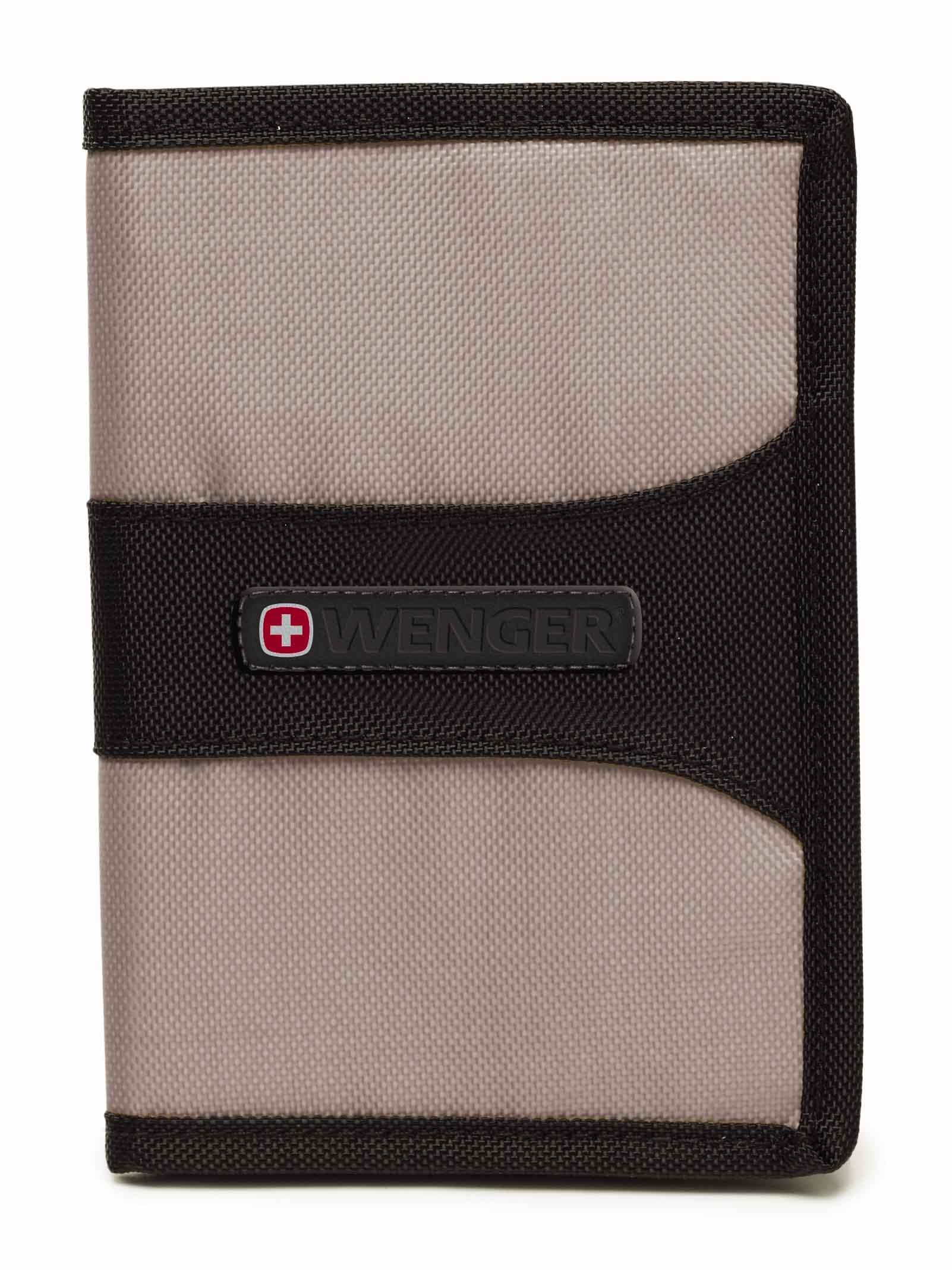 Wenger RFID Protection Passport Cover in Grey
