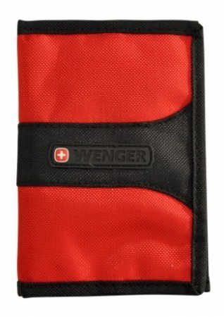 Wenger RFID Protection Passport Cover in Red