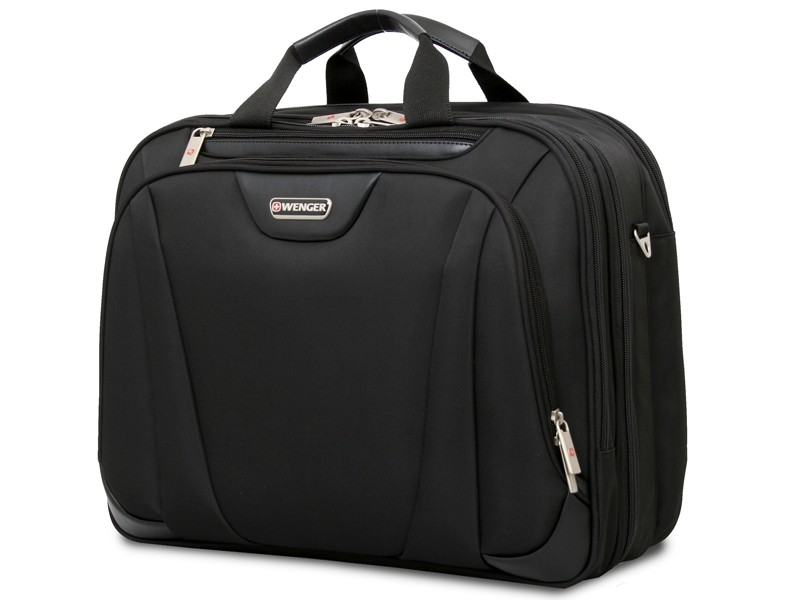 "Wenger 17"" Triple Compartment Briefcase"