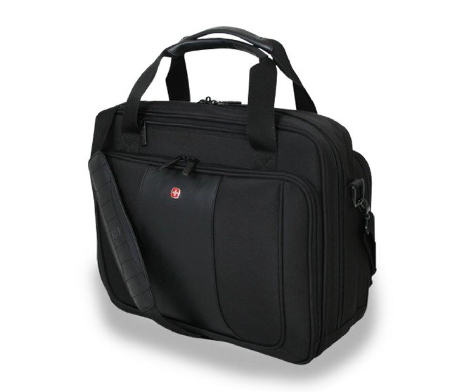 Wenger Triple Compartment Briefcase
