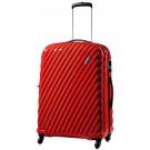 Carlton Velocity Spinner 4 Wheels Trolley Case 55cm in Red