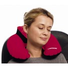 Wenger Double Comfort Travel Pillow with Pouch (Inflatable) in Red
