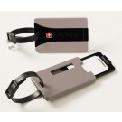Wenger Security ID Luggage Tags - Set of 2 in Grey