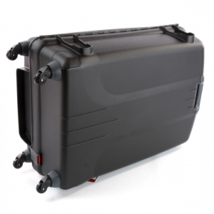 Carlton Glider 3 Hard Sided 4 Wheel Trolley Case 82cm Black