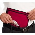 Wenger Trim Line Travel Waist Wallet in Red